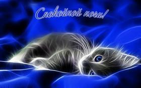 Красивая лучшая бесплатная открытка с поздравлением, сладких снов, спокойной ночи для брата! Открытка добра! скачать открытку бесплатно   pozdravok.qwestore.com
