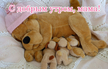 С добрым утром, мама! Скачать красивые открытки бесплатно онлайн прямо сейчас! скачать открытку бесплатно | pozdravok.qwestore.com